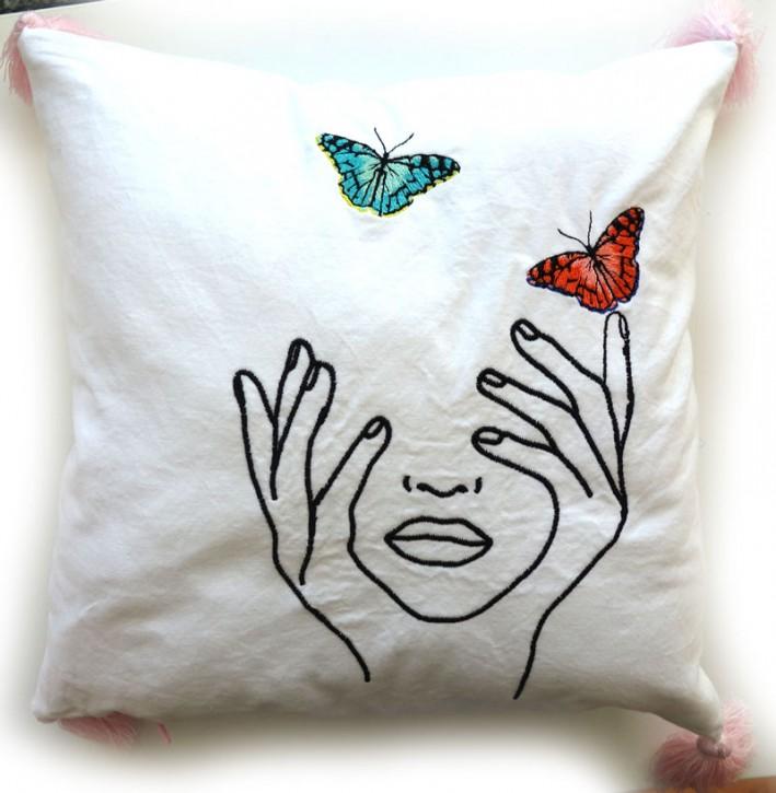 Schmetterling 30x30cm