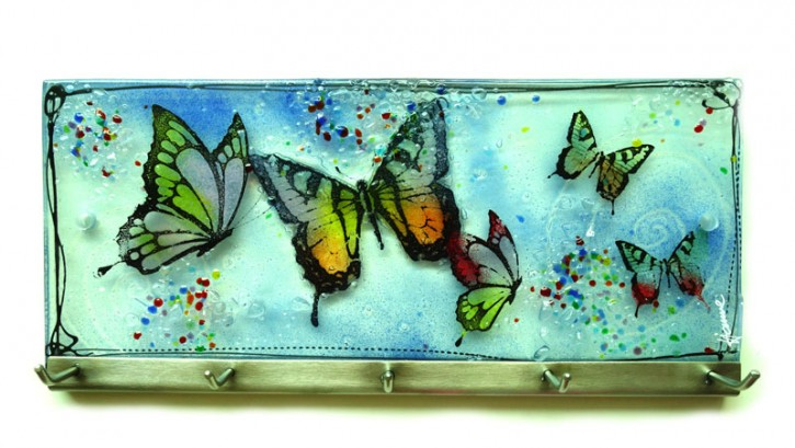 Schmetterlinge  25x11cm