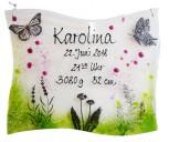 Schmetterling  16x20cm