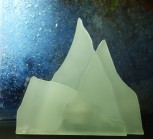 Berge  14x14cm