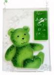 Teddy Geburtenschild  21x16cm